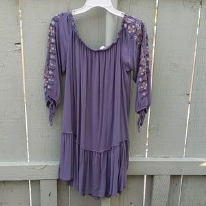 Xhilaration Purplish/ Periwinkle Mini Dress Large